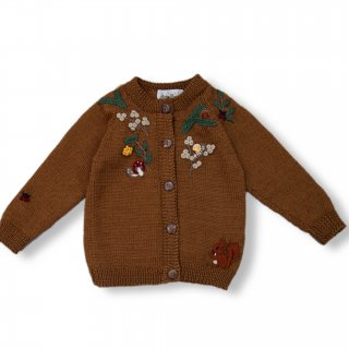 <img class='new_mark_img1' src='https://img.shop-pro.jp/img/new/icons14.gif' style='border:none;display:inline;margin:0px;padding:0px;width:auto;' />Shirley Bredal woodland cardigan (caramel)