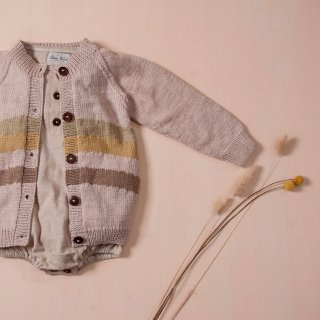 <img class='new_mark_img1' src='https://img.shop-pro.jp/img/new/icons14.gif' style='border:none;display:inline;margin:0px;padding:0px;width:auto;' />Shirley Bredal rainbow cardigan  (dusty pink)