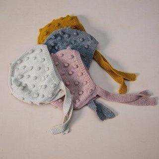 <img class='new_mark_img1' src='https://img.shop-pro.jp/img/new/icons14.gif' style='border:none;display:inline;margin:0px;padding:0px;width:auto;' />Shirley Bredal pompom bonnet (3color)