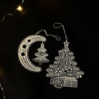 <img class='new_mark_img1' src='//img.shop-pro.jp/img/new/icons14.gif' style='border:none;display:inline;margin:0px;padding:0px;width:auto;' />lace ornament Christmas tree
