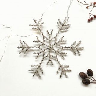 <img class='new_mark_img1' src='//img.shop-pro.jp/img/new/icons14.gif' style='border:none;display:inline;margin:0px;padding:0px;width:auto;' />新作!Bloomingville snowflake  Ornament (A)