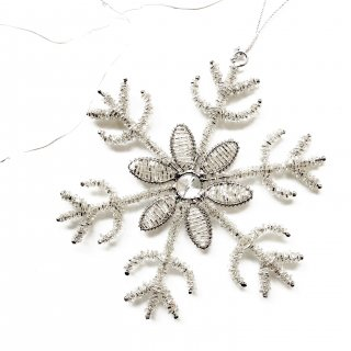 <img class='new_mark_img1' src='//img.shop-pro.jp/img/new/icons14.gif' style='border:none;display:inline;margin:0px;padding:0px;width:auto;' />新作!Bloomingville snowflower  Ornamet(C)