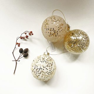 <img class='new_mark_img1' src='//img.shop-pro.jp/img/new/icons14.gif' style='border:none;display:inline;margin:0px;padding:0px;width:auto;' />新作!Bloomingville gold star ball ornaments