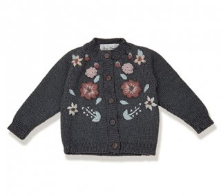<img class='new_mark_img1' src='https://img.shop-pro.jp/img/new/icons14.gif' style='border:none;display:inline;margin:0px;padding:0px;width:auto;' />Shirley Bredal flowercardigan  (gray)