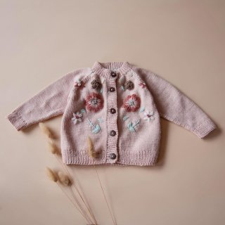<img class='new_mark_img1' src='https://img.shop-pro.jp/img/new/icons14.gif' style='border:none;display:inline;margin:0px;padding:0px;width:auto;' />Shirley Bredal flowercardigan  (dusty pink)