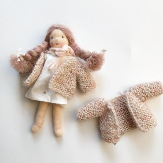 <img class='new_mark_img1' src='//img.shop-pro.jp/img/new/icons14.gif' style='border:none;display:inline;margin:0px;padding:0px;width:auto;' />MINI happy doll knit cardigan coat (pale pink)