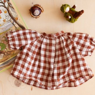 <img class='new_mark_img1' src='https://img.shop-pro.jp/img/new/icons14.gif' style='border:none;display:inline;margin:0px;padding:0px;width:auto;' />NILS happy doll tunic willow (brown check)