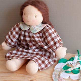 <img class='new_mark_img1' src='https://img.shop-pro.jp/img/new/icons14.gif' style='border:none;display:inline;margin:0px;padding:0px;width:auto;' />NILS happy doll dress (browncheck )(blackcheck)