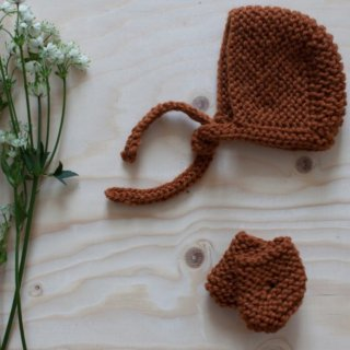 <img class='new_mark_img1' src='//img.shop-pro.jp/img/new/icons14.gif' style='border:none;display:inline;margin:0px;padding:0px;width:auto;' />NILS happy doll knit bonnet sox (rust)