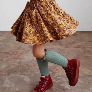 <img class='new_mark_img1' src='https://img.shop-pro.jp/img/new/icons14.gif' style='border:none;display:inline;margin:0px;padding:0px;width:auto;' />Collegien frilled lace High Sox (celadon green)※Misha&Puff 仕様