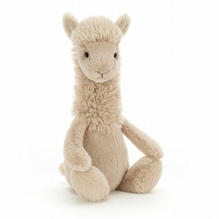 <img class='new_mark_img1' src='https://img.shop-pro.jp/img/new/icons14.gif' style='border:none;display:inline;margin:0px;padding:0px;width:auto;' />入荷!  JELLYCAT Bashful llama Medium  From London