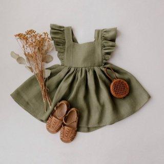 10月末入荷予定  vintage dress (sage)