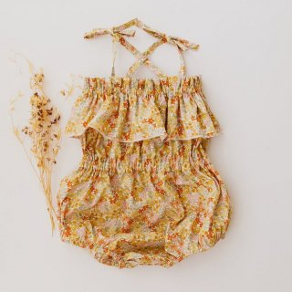 4月末入荷予定  summer playsuit (petit floral)