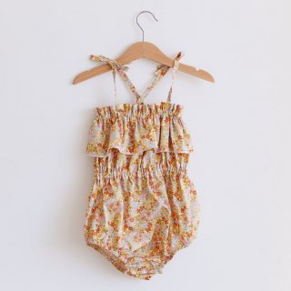 4月末入荷予定  summer playsuit (summer floral)