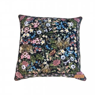 picnic  cushion cover from Australia (wild navy flower)