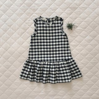 <img class='new_mark_img1' src='https://img.shop-pro.jp/img/new/icons14.gif' style='border:none;display:inline;margin:0px;padding:0px;width:auto;' />Minimom  MILENA DRESS( gingam check)