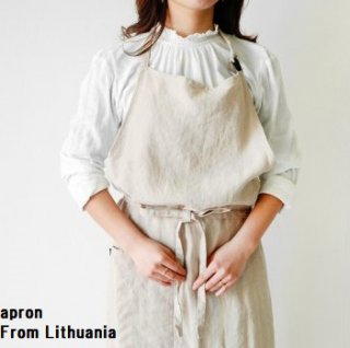 <img class='new_mark_img1' src='https://img.shop-pro.jp/img/new/icons14.gif' style='border:none;display:inline;margin:0px;padding:0px;width:auto;' />【ご予約】Apron Linen From  Lithuania