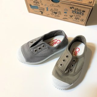 <img class='new_mark_img1' src='//img.shop-pro.jp/img/new/icons14.gif' style='border:none;display:inline;margin:0px;padding:0px;width:auto;' />CIENTA deck shoe (dyed)グレー系