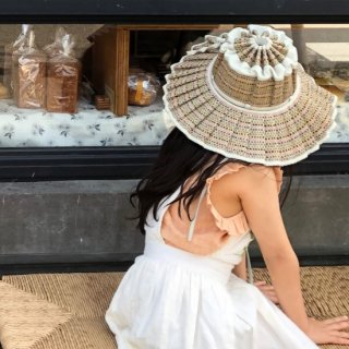 <img class='new_mark_img1' src='https://img.shop-pro.jp/img/new/icons14.gif' style='border:none;display:inline;margin:0px;padding:0px;width:auto;' />Lorna Murray  CAPRI HAT /SANDBAR mix color (kids)