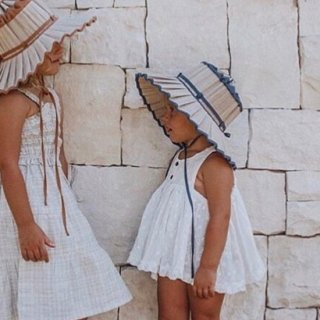 <img class='new_mark_img1' src='https://img.shop-pro.jp/img/new/icons14.gif' style='border:none;display:inline;margin:0px;padding:0px;width:auto;' />Lorna Murray  CAPRI HAT /Sea Side navy  (kids)