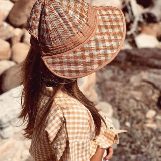 <img class='new_mark_img1' src='https://img.shop-pro.jp/img/new/icons14.gif' style='border:none;display:inline;margin:0px;padding:0px;width:auto;' />NEW design!!! Lorna Murray  Cairo HAT /Spice island check(kids)