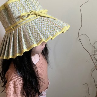 <img class='new_mark_img1' src='https://img.shop-pro.jp/img/new/icons14.gif' style='border:none;display:inline;margin:0px;padding:0px;width:auto;' />Lorna Murray  CAPRI HAT / Tuscany pale yellow (kids)