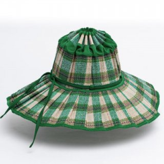 <img class='new_mark_img1' src='https://img.shop-pro.jp/img/new/icons14.gif' style='border:none;display:inline;margin:0px;padding:0px;width:auto;' />Lorna Murray  Capri HAT /Darin green check(kids)