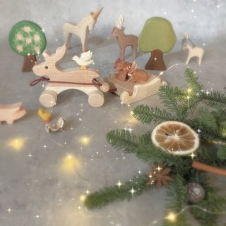 <img class='new_mark_img1' src='https://img.shop-pro.jp/img/new/icons14.gif' style='border:none;display:inline;margin:0px;padding:0px;width:auto;' />Wood Reindeer & sled