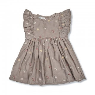 <img class='new_mark_img1' src='https://img.shop-pro.jp/img/new/icons14.gif' style='border:none;display:inline;margin:0px;padding:0px;width:auto;' />Shirley Bredal unique dress (taupe /flower badge)