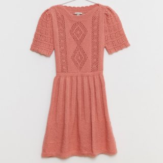 <img class='new_mark_img1' src='https://img.shop-pro.jp/img/new/icons14.gif' style='border:none;display:inline;margin:0px;padding:0px;width:auto;' />Fish &kids  2020AW KNITTED DRESS (rose)