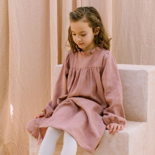 <img class='new_mark_img1' src='https://img.shop-pro.jp/img/new/icons14.gif' style='border:none;display:inline;margin:0px;padding:0px;width:auto;' />NellieQuats  Marbles Dress (Dusty Rose Linen)