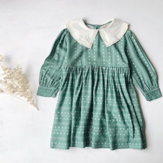 <img class='new_mark_img1' src='https://img.shop-pro.jp/img/new/icons20.gif' style='border:none;display:inline;margin:0px;padding:0px;width:auto;' />SALE!!! CARAMEL baby&child   buzzard dress(teal dot)