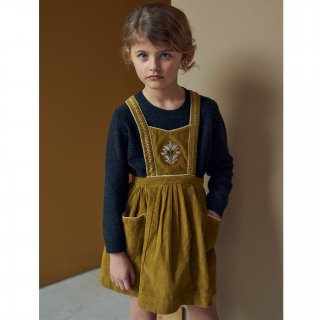 <img class='new_mark_img1' src='https://img.shop-pro.jp/img/new/icons20.gif' style='border:none;display:inline;margin:0px;padding:0px;width:auto;' />SALE!!! CARAMEL baby&child   Goose Pinfore (mustard corduroy) KIDS