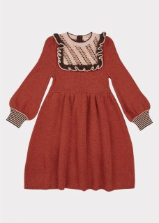 <img class='new_mark_img1' src='https://img.shop-pro.jp/img/new/icons14.gif' style='border:none;display:inline;margin:0px;padding:0px;width:auto;' />CARAMEL baby&child   Nightingale Dress  (cinammon ) KIDS