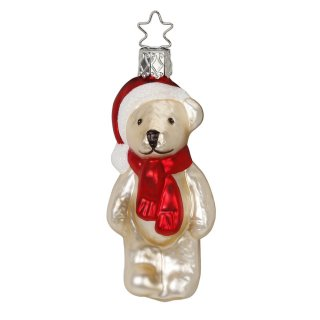 <img class='new_mark_img1' src='https://img.shop-pro.jp/img/new/icons14.gif' style='border:none;display:inline;margin:0px;padding:0px;width:auto;' />Handmade Teddy Glass Ornament