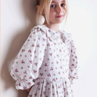<img class='new_mark_img1' src='https://img.shop-pro.jp/img/new/icons20.gif' style='border:none;display:inline;margin:0px;padding:0px;width:auto;' />SALE!tocotovintage puff sleeved Flower dress (20aw)