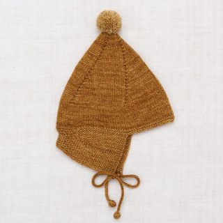 <img class='new_mark_img1' src='https://img.shop-pro.jp/img/new/icons14.gif' style='border:none;display:inline;margin:0px;padding:0px;width:auto;' />MISHA & PUFF  pointy peakhat (bronze)