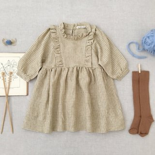<img class='new_mark_img1' src='https://img.shop-pro.jp/img/new/icons14.gif' style='border:none;display:inline;margin:0px;padding:0px;width:auto;' />SOORPLOOM  Percy dress(gingham )