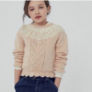 <img class='new_mark_img1' src='https://img.shop-pro.jp/img/new/icons20.gif' style='border:none;display:inline;margin:0px;padding:0px;width:auto;' />SALE!!! The New Society  GARANCE sweater(natural)