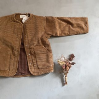 Konges SLoejd  Corduroy Quikted coat(faded brown)<img class='new_mark_img2' src='https://img.shop-pro.jp/img/new/icons14.gif' style='border:none;display:inline;margin:0px;padding:0px;width:auto;' />