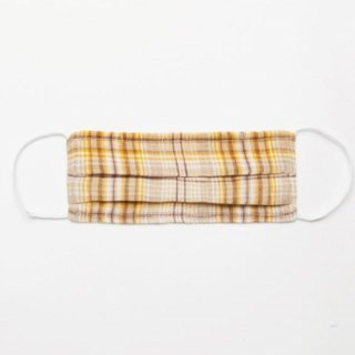 <img class='new_mark_img1' src='https://img.shop-pro.jp/img/new/icons14.gif' style='border:none;display:inline;margin:0px;padding:0px;width:auto;' />NellieQuats  masks for kids (Buttermilk Plaid Linen)