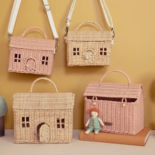 <img class='new_mark_img1' src='https://img.shop-pro.jp/img/new/icons14.gif' style='border:none;display:inline;margin:0px;padding:0px;width:auto;' />Olliella CASA house Clutch  BAG  (natural)