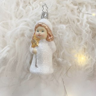 <img class='new_mark_img1' src='https://img.shop-pro.jp/img/new/icons14.gif' style='border:none;display:inline;margin:0px;padding:0px;width:auto;' />Kinder girl starwand  glass Ornament