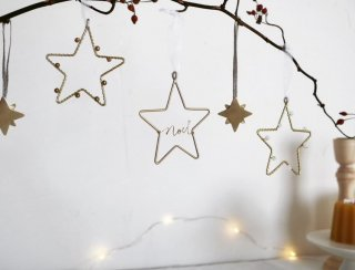 <img class='new_mark_img1' src='https://img.shop-pro.jp/img/new/icons14.gif' style='border:none;display:inline;margin:0px;padding:0px;width:auto;' />RUNI Star ornaments set of 3 (4日 20時より販売)