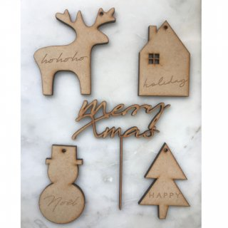 <img class='new_mark_img1' src='https://img.shop-pro.jp/img/new/icons14.gif' style='border:none;display:inline;margin:0px;padding:0px;width:auto;' />新作!!!& MERCI Cake Topper  (merry xmas&xmas motif set)
