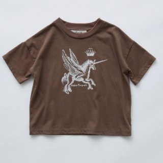 <img class='new_mark_img1' src='https://img.shop-pro.jp/img/new/icons14.gif' style='border:none;display:inline;margin:0px;padding:0px;width:auto;' />21ss eLfinFolk  pegasus tee  (brown)