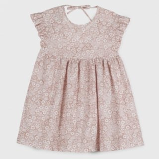 <img class='new_mark_img1' src='https://img.shop-pro.jp/img/new/icons14.gif' style='border:none;display:inline;margin:0px;padding:0px;width:auto;' />Linen flower  Dress from Spain (pinkbeige)