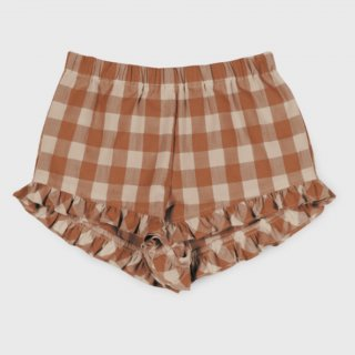 <img class='new_mark_img1' src='https://img.shop-pro.jp/img/new/icons14.gif' style='border:none;display:inline;margin:0px;padding:0px;width:auto;' />Vichy Ruffle shorts  from Spain (rust)
