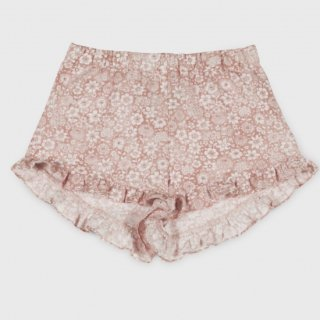 <img class='new_mark_img1' src='https://img.shop-pro.jp/img/new/icons14.gif' style='border:none;display:inline;margin:0px;padding:0px;width:auto;' />Linen flower  Shorts from Spain (pinkbeige)