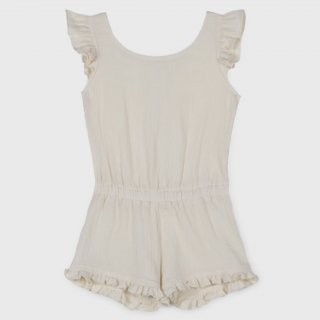 <img class='new_mark_img1' src='https://img.shop-pro.jp/img/new/icons14.gif' style='border:none;display:inline;margin:0px;padding:0px;width:auto;' />organic cotton Frils Bambula playsuit from Spain (cream)
